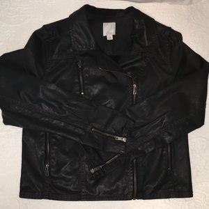 Halogen coated moto jacket